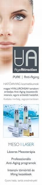 Lézeres mezoterápia kizárólag Age-attraction anyagokkal
